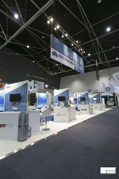 Marketing Exhibition Stand Zones : Best defence and aerospace exhibition design by designteam