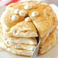 White Chocolate Macadamia Nut Pancakes | Minimalist Baker Recipes