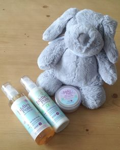Tiddley Pom Natural Baby Spa Product Review - www.lovefrommim.com Organic Baby Gifts