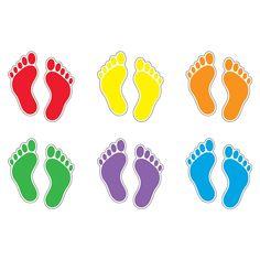 (3 Pk) Footprints Variety Pk Classic Accents