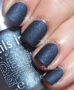 The PolishAholic: Nails Inc Denim Effect: Bermondsey