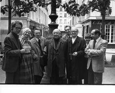 Cioran, Ionesco et Eliade, Place Fürstenberg, Paris, octobre 1977 © Louis Monier Emil Cioran, Great Thinkers, Noam Chomsky, Paris, Old Men, Philosophy, Che Guevara, Literature, Memories