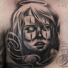 "81 Synes godt om, 2 kommentarer – Iron & Ink Tattoo Studio (@ironinktattoo) på Instagram: ""Made by @art_by_enes Artist at @ironinktattoo😈  Booking: @hawaros 📞 3175 4828 ✉️…"""
