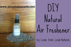 This natural air freshener recipe is simple to make, cost effective, and really works. It's chemical free and sure to leave your house smelling nice.