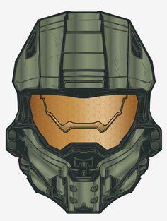 Master Chief - Halo - Joshua M. Video Game Art, Video Games, John 117, Halo 3, Most Favorite, Rwby, Best Games, Master Chief, Illustration Art