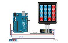 In diesem Blog Eintrag möchte ich euch erklären wie ihr eine Matrix Folientastatur über einen I2C Portexpander PCF8574 ansteuern könnt.