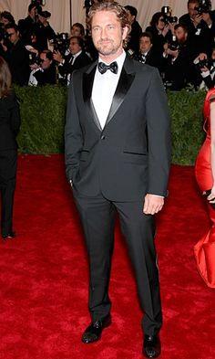 Gerard Butler in Alexander McQueen
