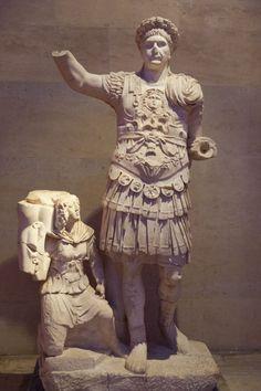 Emperor Trajan, Roman statue (marble), 2nd century AD, (Antalya Müzesi, Antalya). [photo by Dick Osseman]
