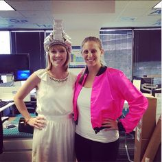 More great costumes from our Grease themed costume day. Jealous? Join the fun at http://www.blinds.com/careers.