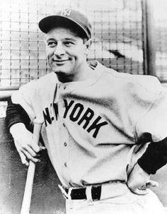 "Lou Gehrig's ""Luckiest Man"" speech #Sport #Great #Sporting #Moments #SportMoments #MomentsInSport"