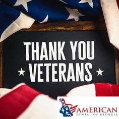 We appreciate our veterans! Thank you for your service!