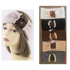 accented head wrap FIVE COLORS TO CHOOSE FROM..OS Adorable lace design knot accent knit head wrap  ❤️ PLEASE COMMENT COLOR AND I WILL MAKE YOU A SEPARATE LISTING ❤️   NWT  ONE SIZE FITS MOST  stretches  FIVE COLORS AVAILABLE:  beige, ivory, grey, brown, black  100% acrylic   price is firm unless bundled Accessories Scarves & Wraps