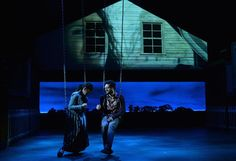 A Little More Alive. Kansas City Repertory Theatre. Scenic Design by Wilson Chin, Lighting by Cory Pattak and Projection Design by Josh Lerher. 2014