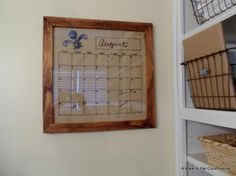 I am really going to put some time aside to make this....very cool kind of calendar!
