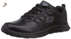 SKECHERS Women's Flex Appeal - Pure Tone Black Sneaker 11 B (M) - Skechers sneakers for women (*Amazon Partner-Link)