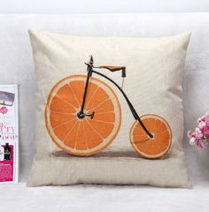 The Deny Designs Florent Bodart Vitamin Framed Wall Art brings a whimsical touch to any room with its old timey bike accented with large orange slices. Lg G3, Painting Frames, Painting Prints, Art Prints, Watercolor Painting, Paintings, Galaxy S3, Metal Wall Art, Framed Wall Art