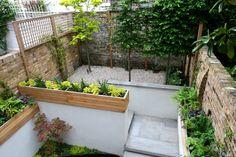 Superb Small Garden Design Ideas Brick Fence and Sand Floor in the Garden Inspiration, Patio & Garden & House