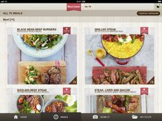 iPad Screenshot 1 - Jamie Oliver 15 Minute Meals app
