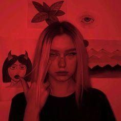 Red Aesthetic Grunge, Badass Aesthetic, Bad Girl Aesthetic, Aesthetic Photo, Aesthetic Pictures, Grunge Photography, Girl Photography, Urban Photography, White Photography
