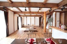 大屋根に包まれた平屋暮らしの家/サイエンスホーム