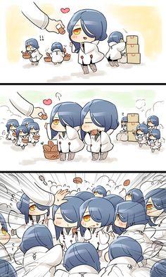 @205trc:連 2018-02-0108:13職務中のパラケル君達に考えなしに餌付けしたい…pic.twitter.com/nF7wfjqx9D@Aria_boi:Aria 2018-02-0118:51@205trcpic.twitter.com/ftyumBL06P@watosuko:わとすこ 2018-02-0 Anime Chibi, Cartoon As Anime, Anime Kawaii, Manga Anime, Anime Art, Cute Comics, Funny Comics, Otaku Anime, Fate Stay Night Anime