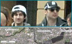Boston Marathon bombers: timeline since FBI photo release : telegraph uk