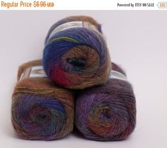 ON SALE Amazing Wool and Acrylic Yarn from Lion by PenandHook