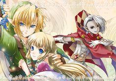Zelda Skyward Sword - manga style  勇者の保険 2012/08