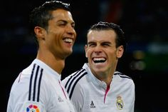 Ronaldo and Bale return to Madrid training