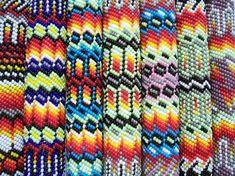 Native American Peyote Stitch Patterns Peyote Stitch Patterns, Seed Bead Patterns, Beading Patterns, Beading Ideas, Native American Patterns, Native American Crafts, Native Beadwork, Native American Beadwork, Beadwork Designs