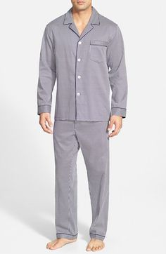 Men's Majestic International 'Mosaic' Cotton Pajama Set