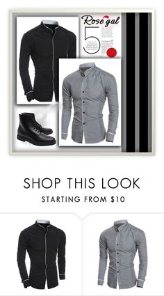 """""""Win $20 cash from Rosegal"""" by guru23 ❤ liked on Polyvore featuring Common Projects, men's fashion and menswear"""