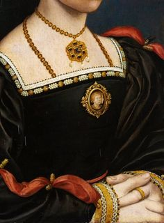 Style of Hans Holbein the Younger - Portrait of a Young Woman