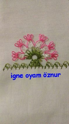 This Pin was discovered by Suz Needle Tatting, Needle Lace, Needle And Thread, Crochet Trim, Filet Crochet, Crochet Edgings, Crochet Unique, Thread Work, Lace Making