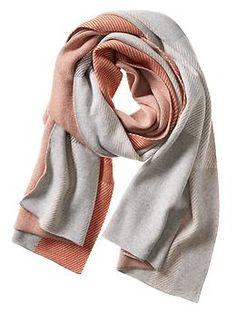 Plaid Jacquard Blanket Scarf | Banana Republic