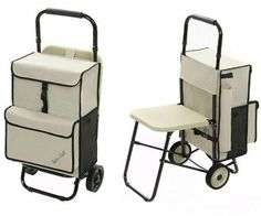 This cart has a sturdy, plastic seat that is more comfortable for seniors than seats made from fabric. Elderly Products, Car Life Hacks, Bike Motor, Senior Gifts, Mobility Aids, Industrial Design Sketch, Elderly Care, In Case Of Emergency, Grandparent Gifts