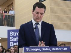 Chancellor of the Exchequer George Osborne deliver a speech on the potential economic impact to the UK on leaving the European Union (EU), at a B&Q Store Support Office, on May 23, 2016 in Chandler's Ford, near Eastleigh, England. Osborne warned that Brexit would lead Britain into a 'year-long recession'. (Photo by Daniel Leal-Olivas - WPA Pool/Getty Images)