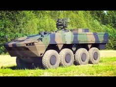 The Patria AMV (Armored Modular Vehicle) is an 8×8 multi-role military vehicle produced by the Finnish defence industry company Patria. The main feature of t...