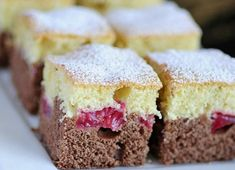 Czech Recipes, Dessert Recipes, Desserts, Vanilla Cake, Muffin, Food And Drink, Breakfast, Cakes, Food