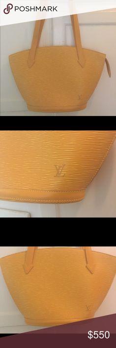 Louis Vuitton Epi Leather St Jacques M52339 Bag Never used authentic Louis Vuitton Shoulder Bag. This purse Is immaculate. Louis Vuitton Bags Shoulder Bags