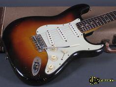 Fender Stratocaster 1959 3-t Sunburst | Reverb