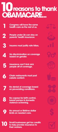 And here's 11 reasons: Starting in August 2012, birth control will be accessible to all women with no co-pay. Unless, of course, we elect a Republican president who elects to spend all their efforts on repealing the Affordable Care Act.