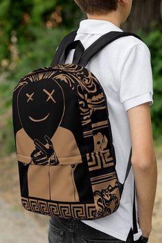 Streetwear Fashion Backpack Handbags and Shoulder Travel Handbags Hipster Fashion, Grunge Fashion, Teen Fashion, Womens Fashion, Boho Grunge, Fashion Outfits, Fashion Vest, Mode Outfits, Fashion Spring