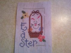 LIZZIE KATE FINISHED COMPLETED CROSS STITCH