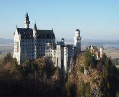 Locuri de vizitat in Bavaria: Castelul Neuschwanstein