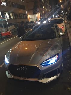Spotted the 2018 RS5 in Manhattan today with Manufacturer plates [1920x1080] via Classy Bro