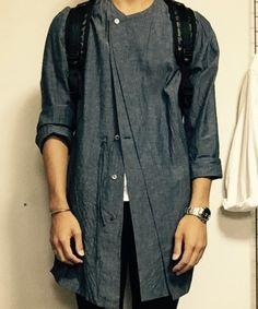 やまだ かずき│Yohji Yamamoto POUR HOMMEのシャツ・ブラウスコーディネート-WEAR