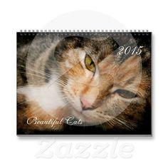 BEAUTIFUL CATS 2015 CALENDAR
