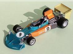 F1 Paper Model - 1974 British GP March 741 Paper Car Ver.3 Free Vehicle Paper Model Download