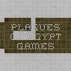 plagues of egypt games Plagues Of Egypt, 10 Plagues, Bible Lessons For Kids, Bible For Kids, Bible School Games, Egypt Games, Sunday School Crafts, Kids Church, Games For Kids